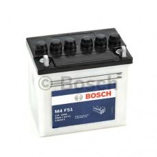 Bosch M4 12N4-4 12 Volt 24 Amper Motosiklet Aküsü